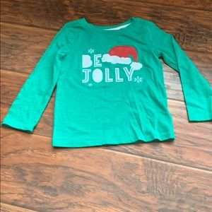 3T Cat & Jack Holiday Long sleeved T-Shirt